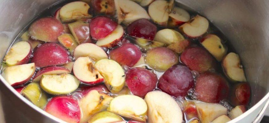 Подготовка яблок для яблочной браги
