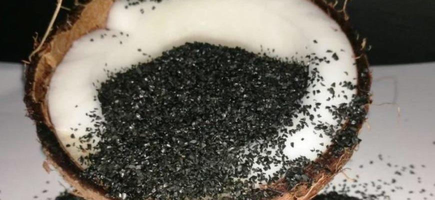 Очистка самогона кокосовым углем