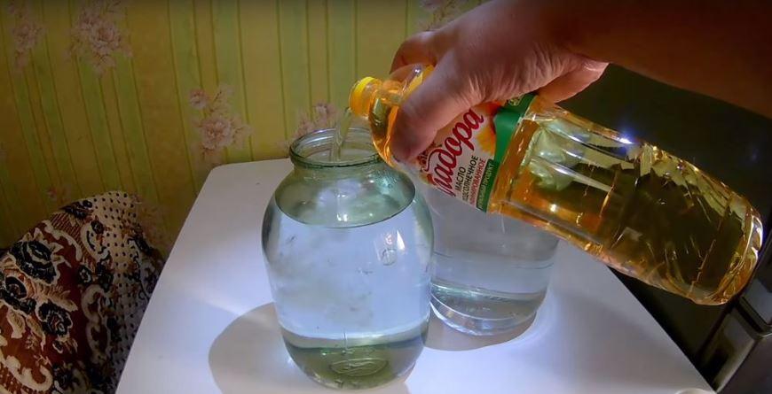 очистка самогона маслом в домашних условиях
