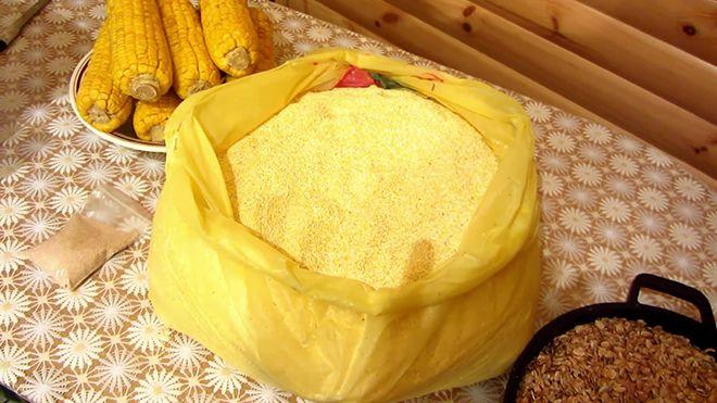Кукуруза дробленая для самогона