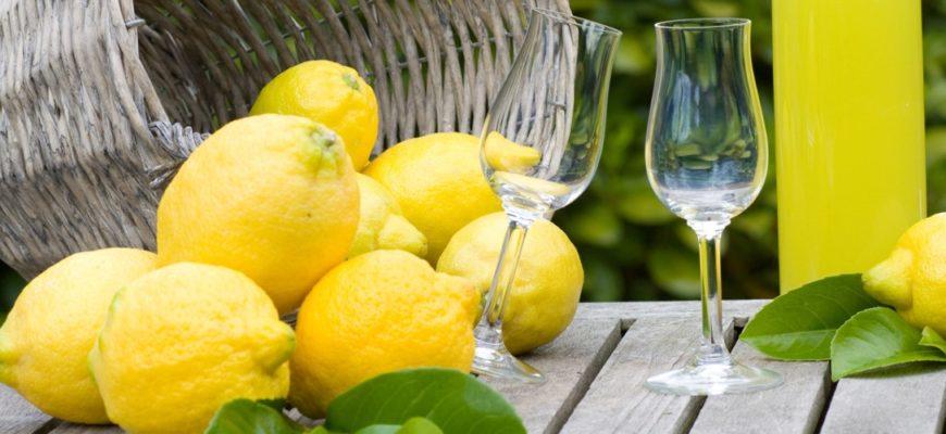 Рецепт ликера лимончелло