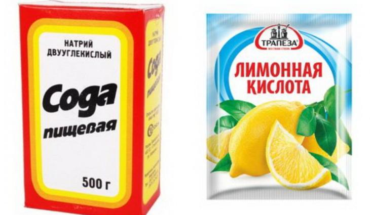 Очистка самогона содой и лимонной кислотой