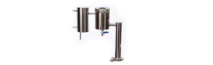 Царга, джин-корзина и охладитель. Обеспечивают прекрасную очистку домашних напитков, а также эффективное охлаждение на выходе