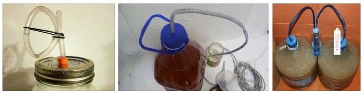 водяной гидрозатвор