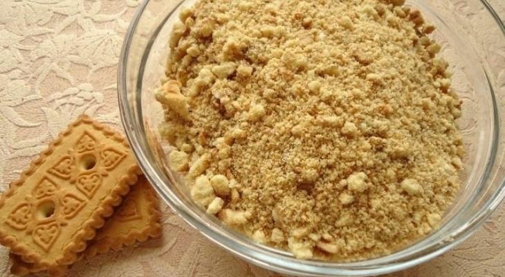 Гасим пену печеньем