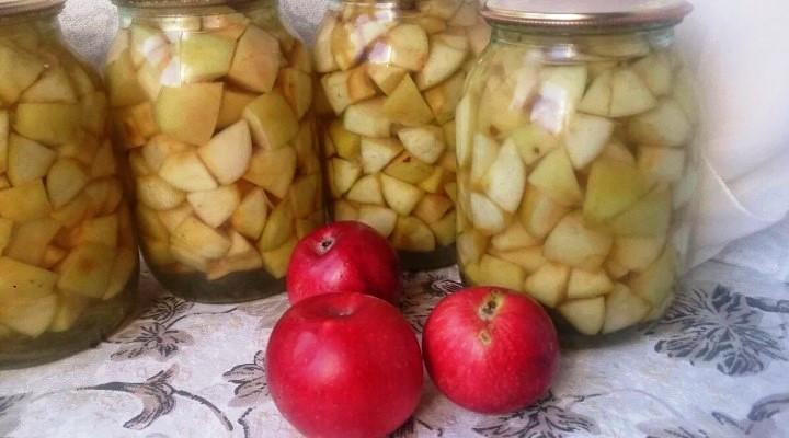 Наливка с медом из яблок