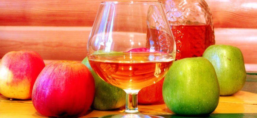 Яблочная настойка на самогоне рецепты