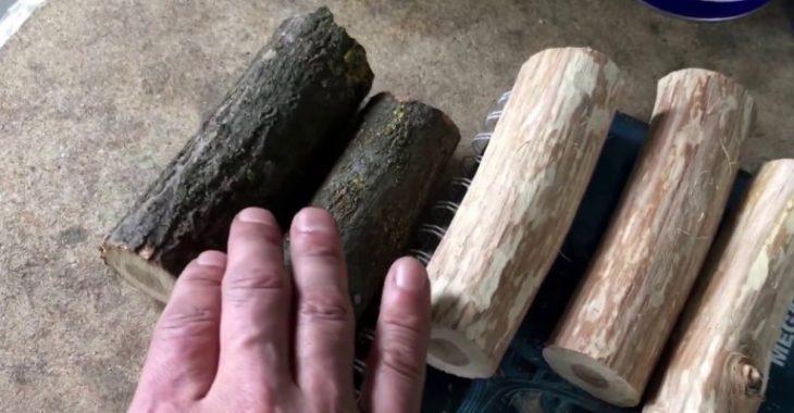 Подготовка дубовой щепы