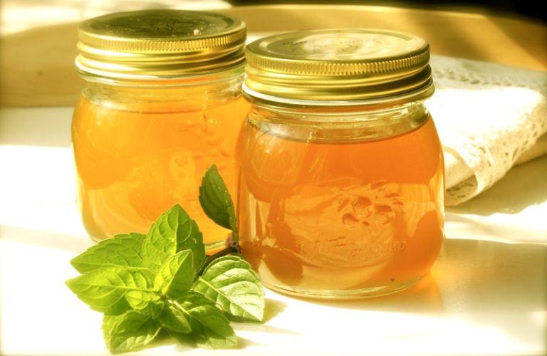 Мятная настойка с медом