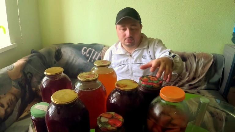 Рецепт браги из старого или забродившего компота