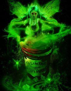 Абсент—зеленая фея