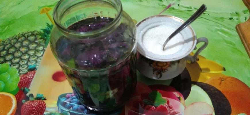 Добавление сахара и мяты