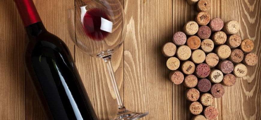 как провильно нюхать винную пробку