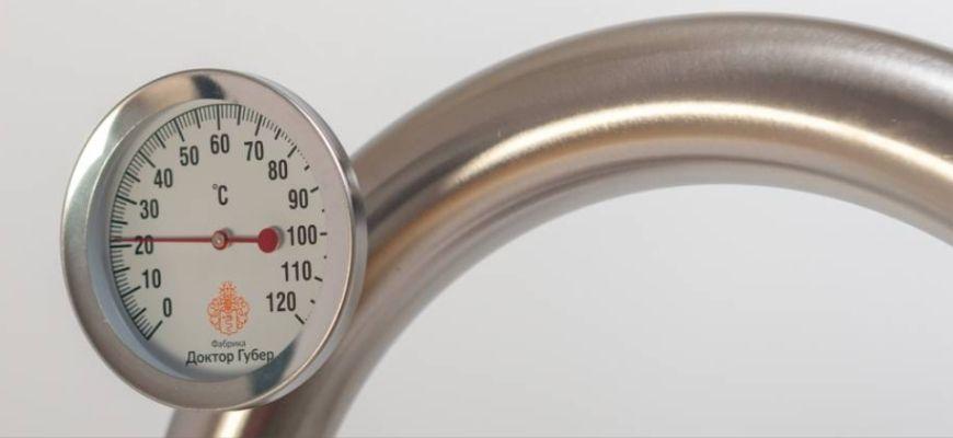 термометр Доктор Губер
