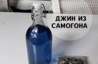 джин из самогона